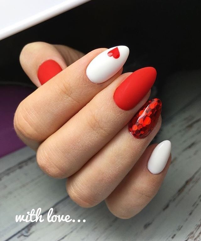 Nail Designs Inspired by Valentine's Day